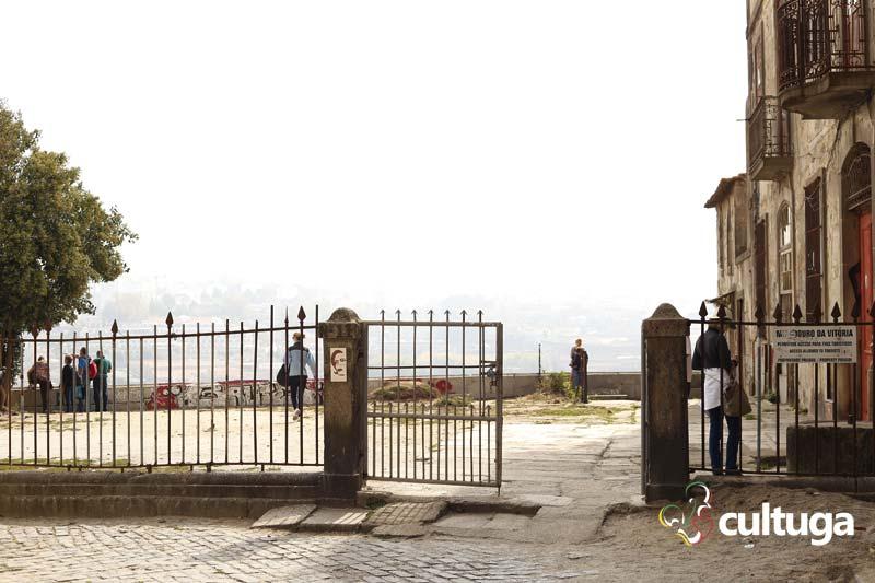 Portão de acesso ao Miradouro da Vitória