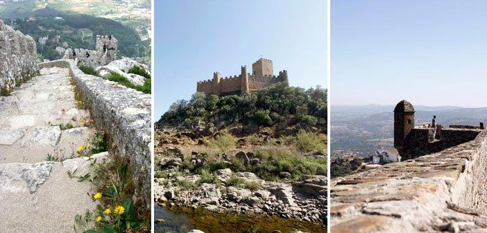 Castelos em Portugal incríveis