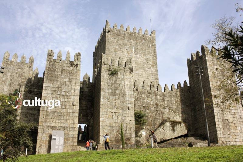 Castelo de Guimarães, em Portugal