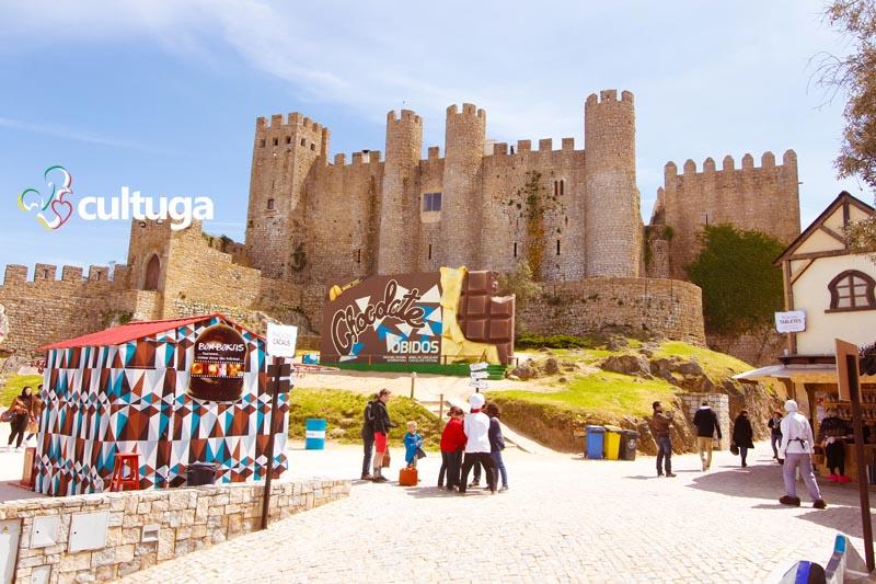Castelos em Portugal: Castelo de Óbidos no Festival de Chocolate