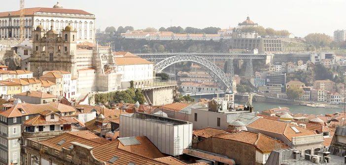 Miradouro da Vitória, no Porto - Portugal