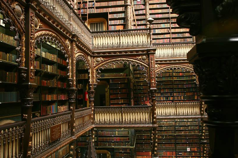 Biblioteca Rio de Janeiro: Real Gabinete Português de Leitura