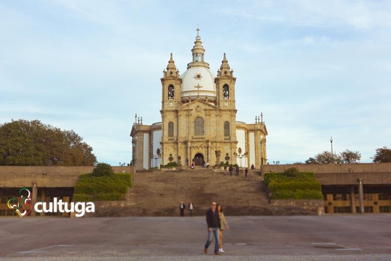 Santuário de Nossa Senhora do Sameiro, em Braga - Portugal