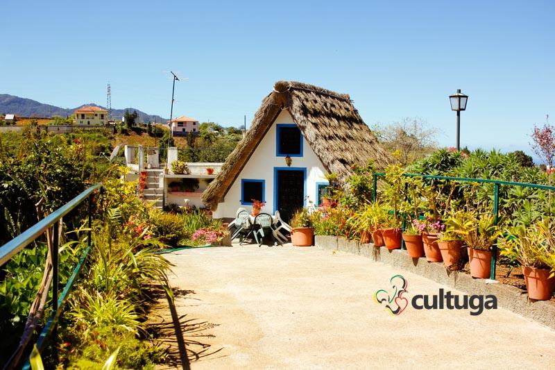 Casas de Santana, na Ilha da Madeira - Portugal