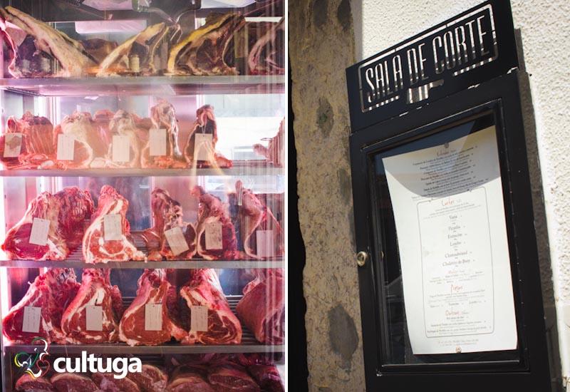 Onde comer carne em Lisboa: Sala de Corte