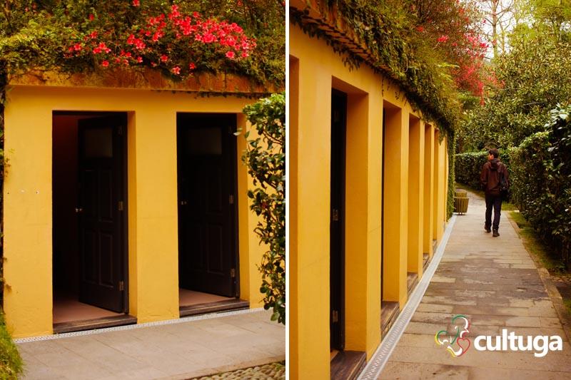 Parque Terra Nostra: banhos quentes e termais nos Açores