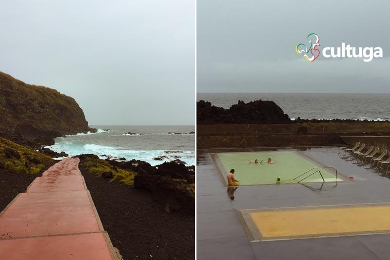 Termas Ferraria: banhos quentes e termais nos Açores