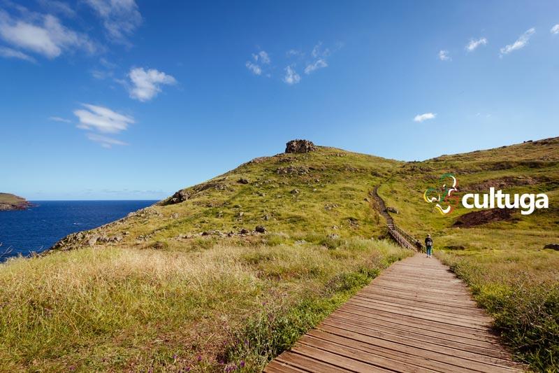 Vereda da Ponta de São Lourenço, na Ilha da Madeira - Portugal