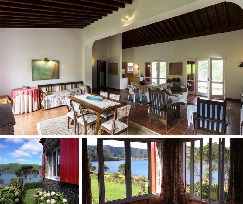 Onde dormir nos Açores Ilha de São Miguel: Lake Cottage Azores
