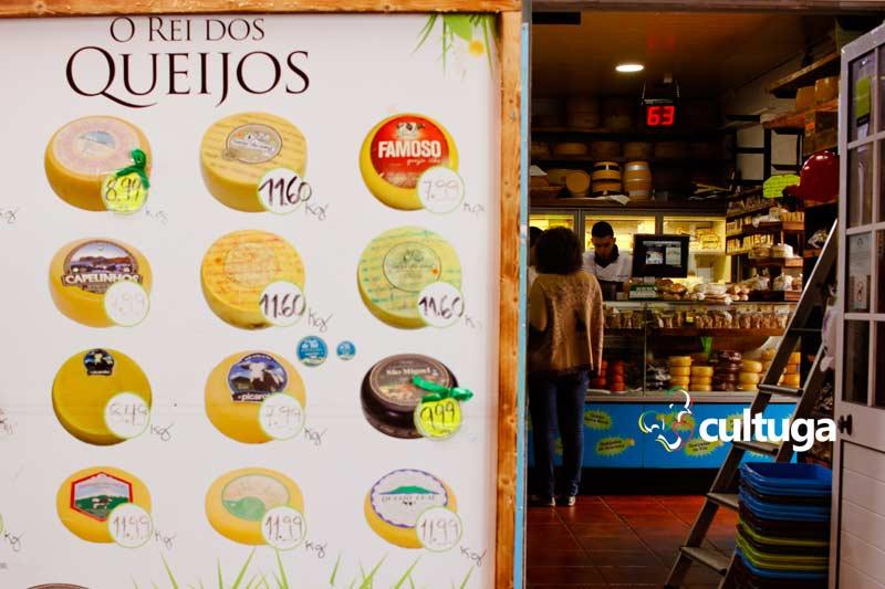 Onde comprar produtos típicos dos Açores: Rei dos Queijos
