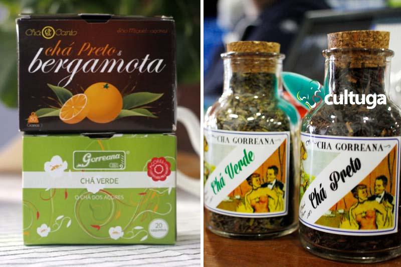 Produtos típicos dos Açores: chá Gorreana