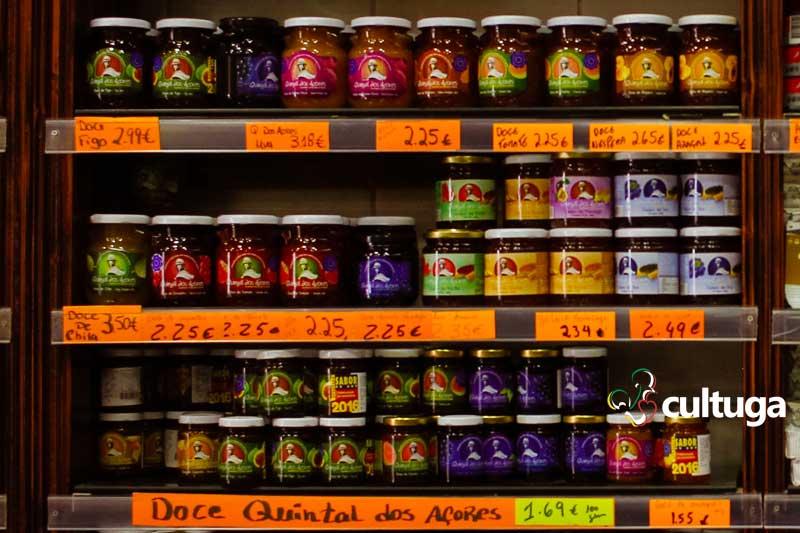 Produto típico dos Açores: geléia de fruta
