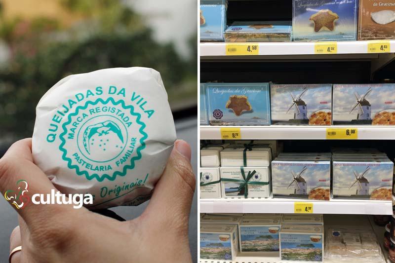 Produto típico dos Açores: queijadas