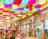 Águeda: fomos ver as ruas das sombrinhas coloridas!