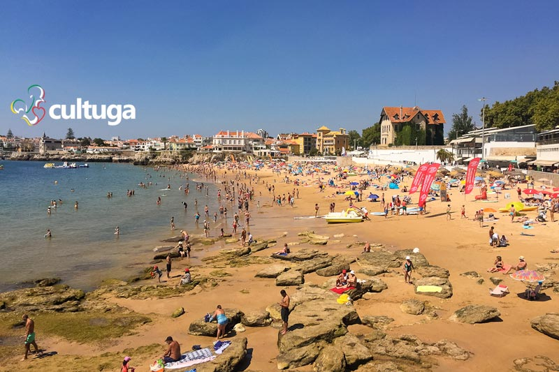 Portugal com crianças: praias de Cascais