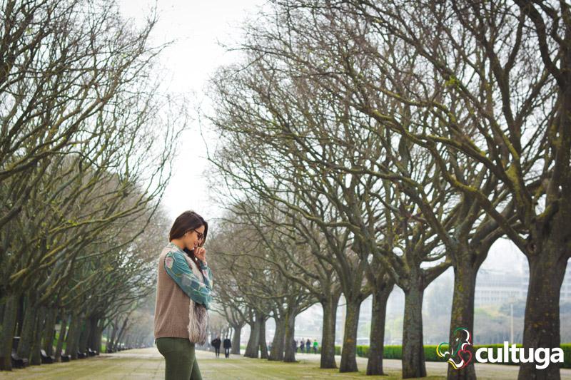 Ensaio fotográfico em Lisboa com Mel Fronckowiak do Destino Certo