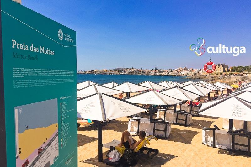 O que fazer em Cascais e Estoril: Praia das Moitas