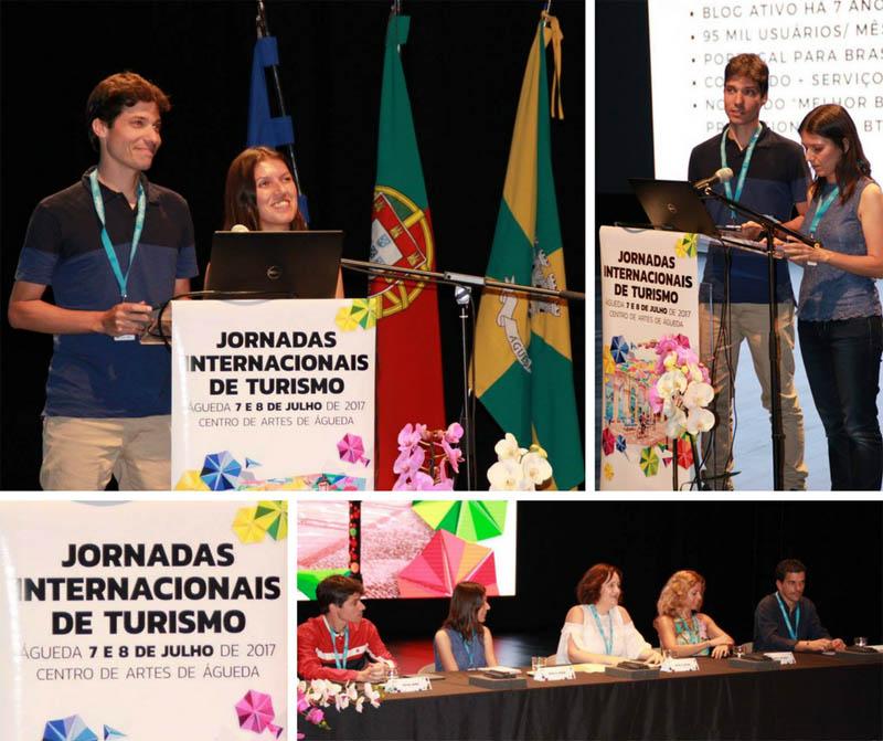 Águeda é a cidade dos guarda-chuvas coloridos em Portugal