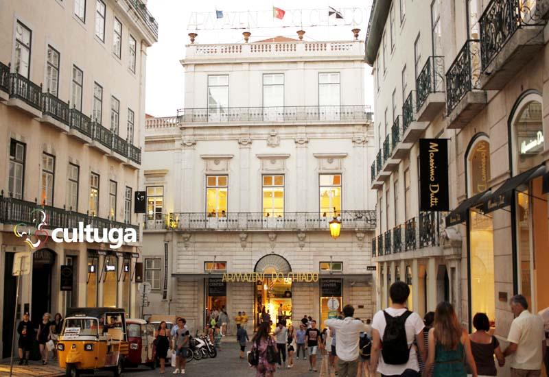 compras em Lisboa: Armazéns do Chiado