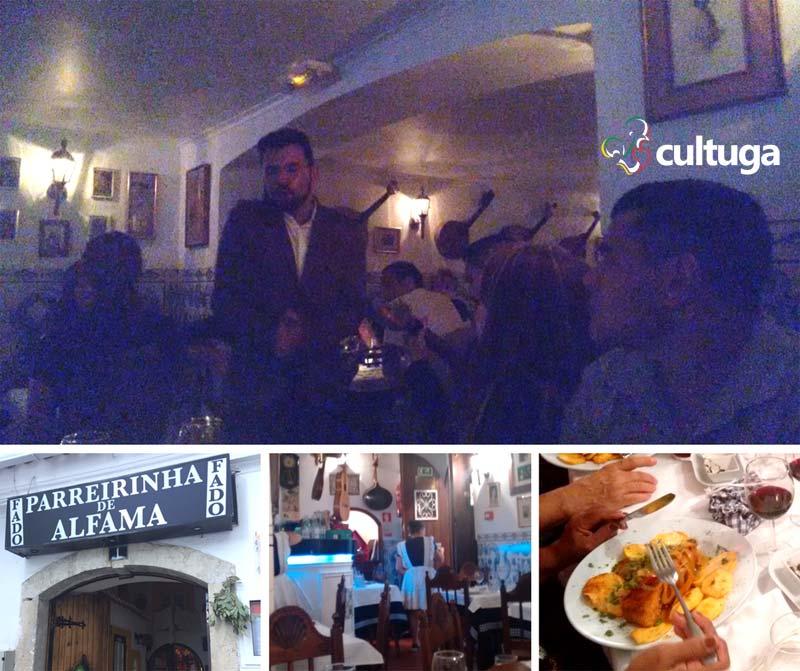 Fado em Lisboa: Parreirinha de Alfama