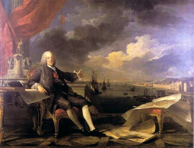 Terremoto de Lisboa de 1755 em retrato com Marquês de Pombal
