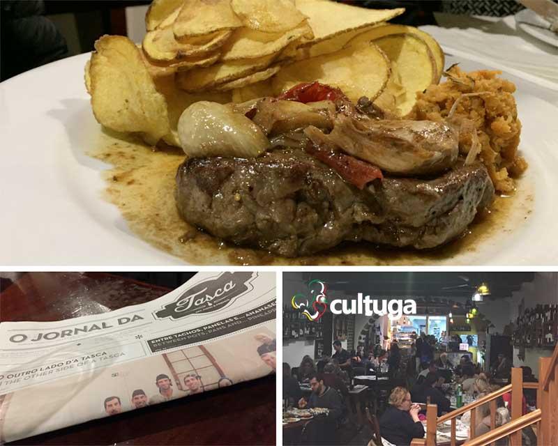 Bife regional da ilha de São Miguel Açores: Restaurante A Tasca
