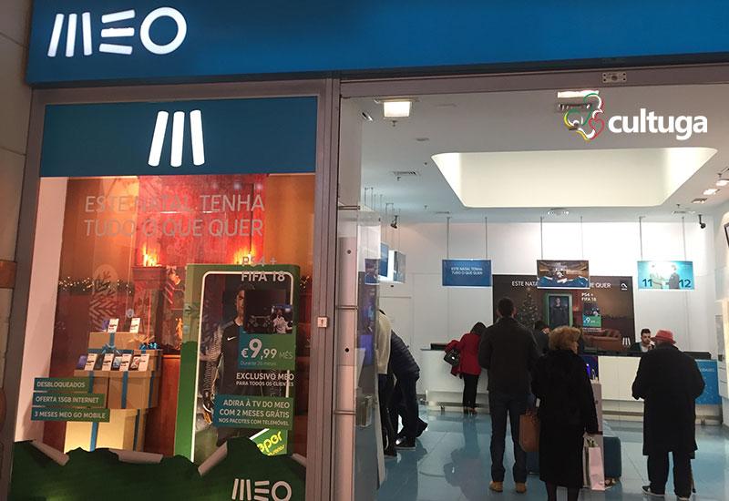 Onde comprar chip para celular em Portugal: loja MEO em Lisboa