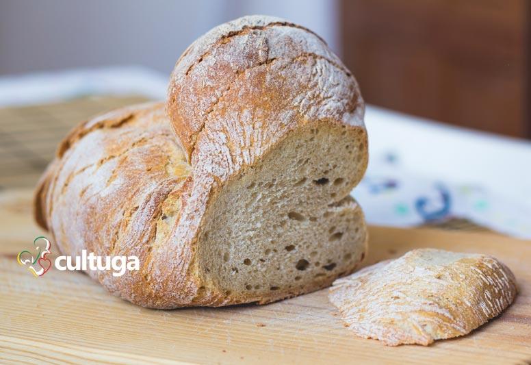 Pão português: pão alentejano