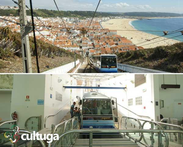 ascensor praia nazaré portugal