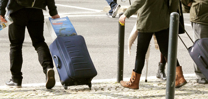 Onde guardar malas em Lisboa