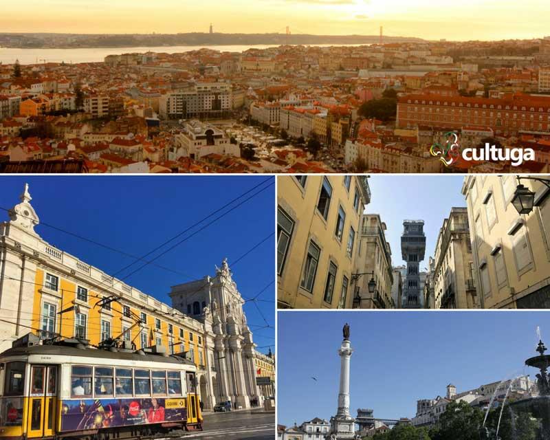 Centro histórico de Lisboa - Baixa