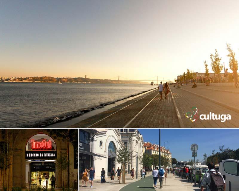Centro histórico de Lisboa - Cais do Sodré