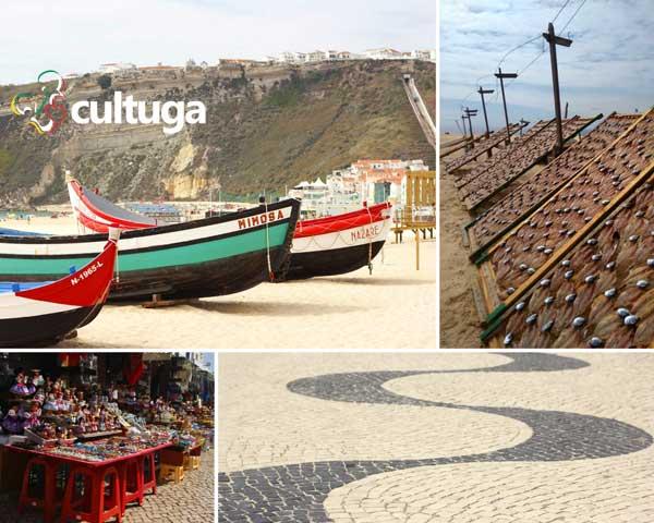 Praia da nazaré portugal
