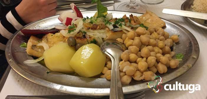 Bacalhau do restaurante João do Grão
