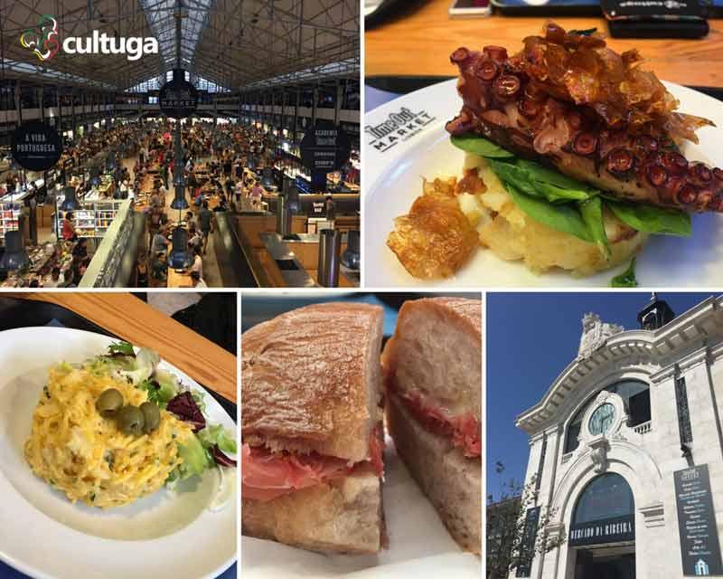 Onde comer em Lisboa - Mercado da Ribeira
