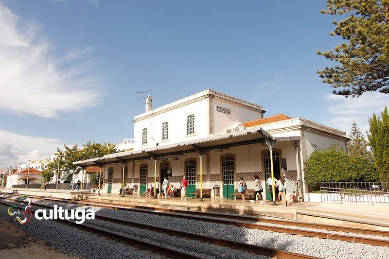 Estação de trem de Tavira, Portugal