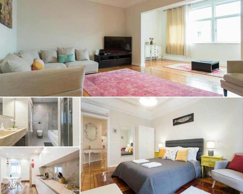 Apartamento para se hospedar em Lisboa