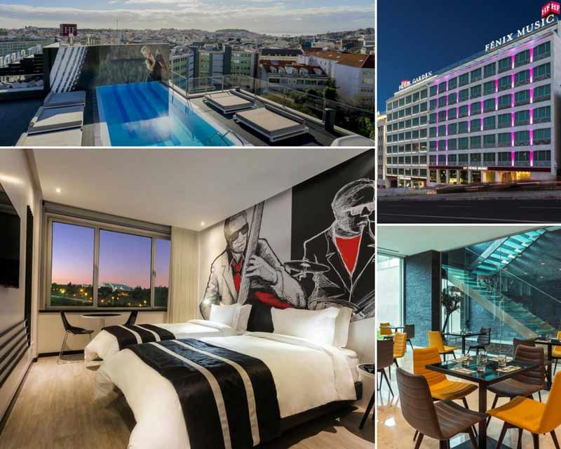 onde ficar em Lisboa: Hotel HF Fenix Music