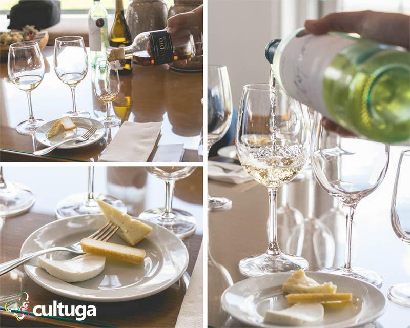 Prova de queijos e vinhos na Ribafreixo Wines