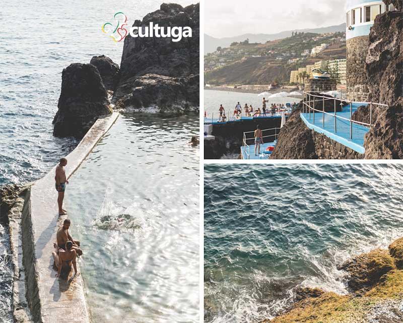 piscinas naturais na Ilha da Madeira doca do cavacas