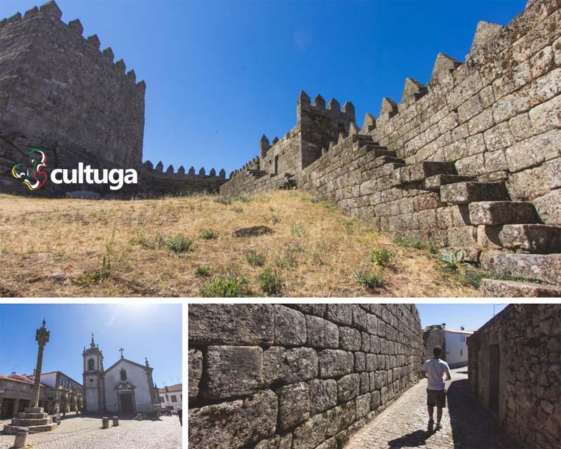 Aldeia de Trancoso, em Portugal
