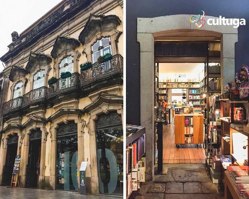 Livraria em Braga, Portugal