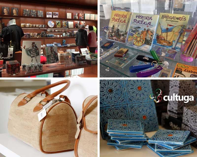 Lojas de Museus em Lisboa