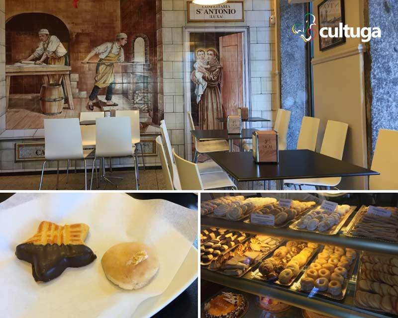 Onde comer em Braga: confeitaria Santo Antonio Luxa