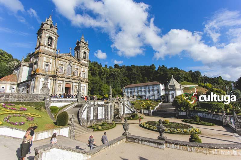 Santuário Bom Jesus do Monte, em Braga, Portugal
