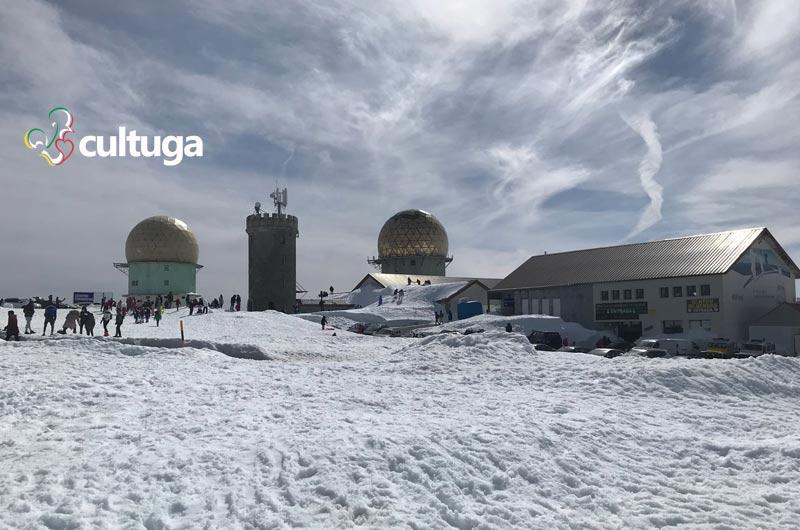 Portugal no inverno: serra da estrela