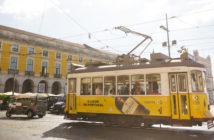 Elétricos/ bondinhos de Lisboa