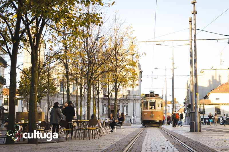 Bondinho elétrico no Porto