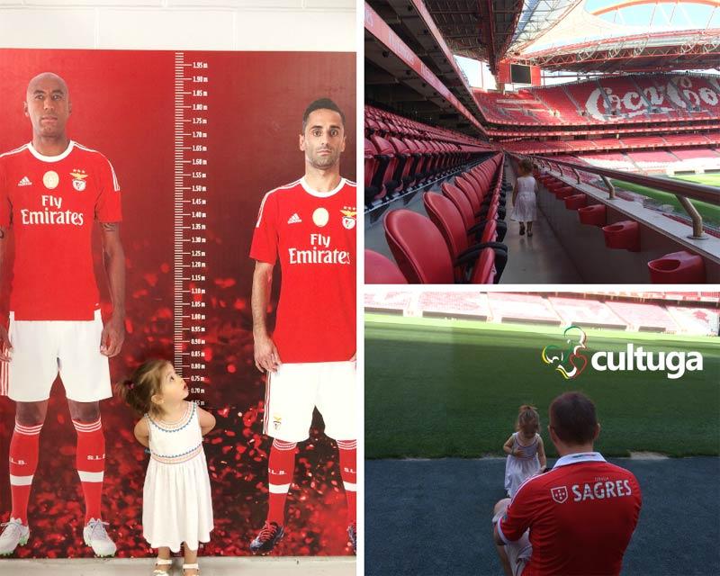 Lisboa com crianças: Estádio do Benfica