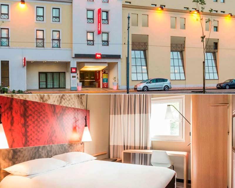 hotéis em Coimbra Ibis